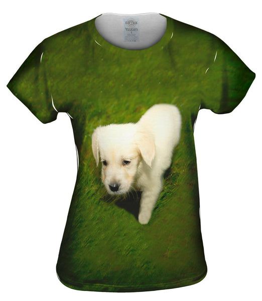 Tread Lightly White Lab Womens Top