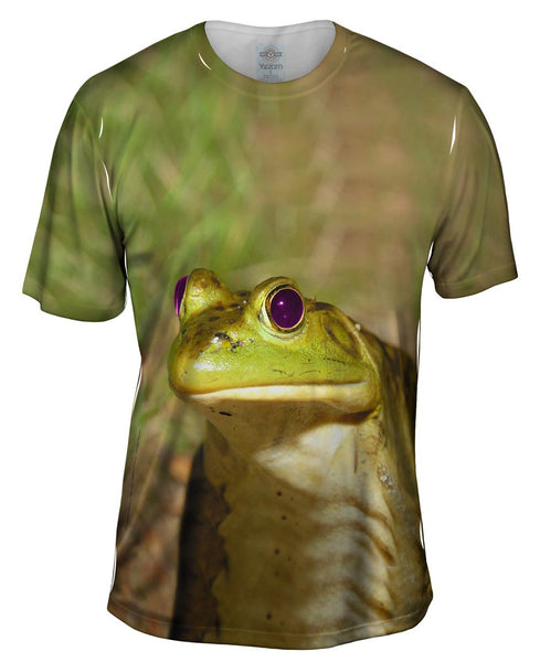Purple Eyed Frog Mens T-Shirt