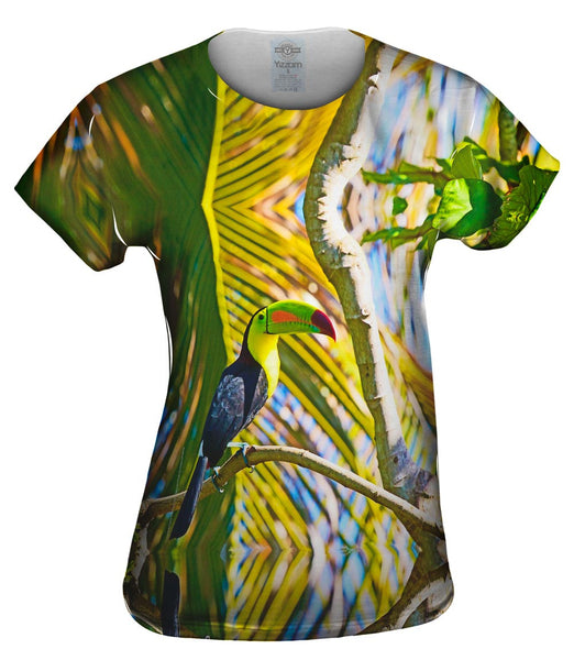 Keel Billed Tucan Womens Top