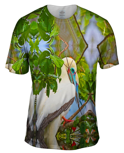 Rest Red Footed Boobies Mens T-Shirt