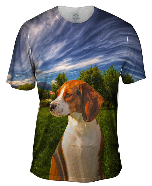 Great American Beagle Mens T-Shirt