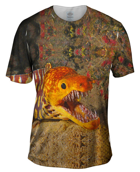 Picopato Eel Sharp Teeth Underwater Mens T-Shirt
