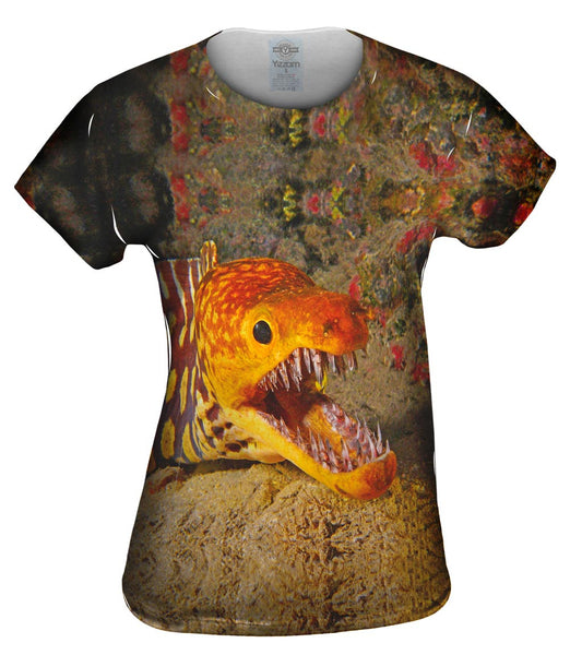 Picopato Eel Sharp Teeth Underwater Womens Top