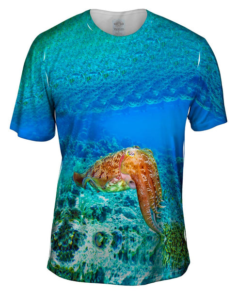 Indonesia Squid Underwater Mens T-Shirt
