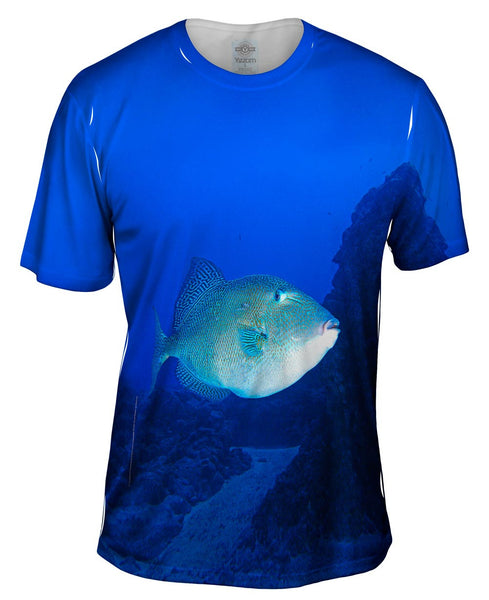 Tron Fish Underwater Mens T-Shirt