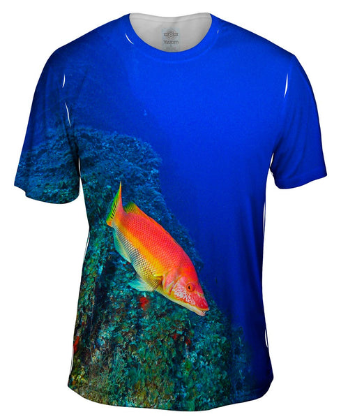 El Bajon Fish Underwater Mens T-Shirt