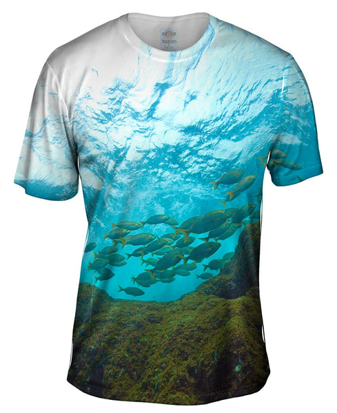 Toujours Au Palier Sky From Underwater Mens T-Shirt