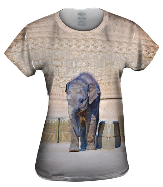 Elephant Baby Wanderer Womens Top