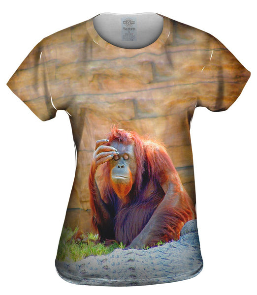 Did I Leave The Stove On Chimp Womens Top