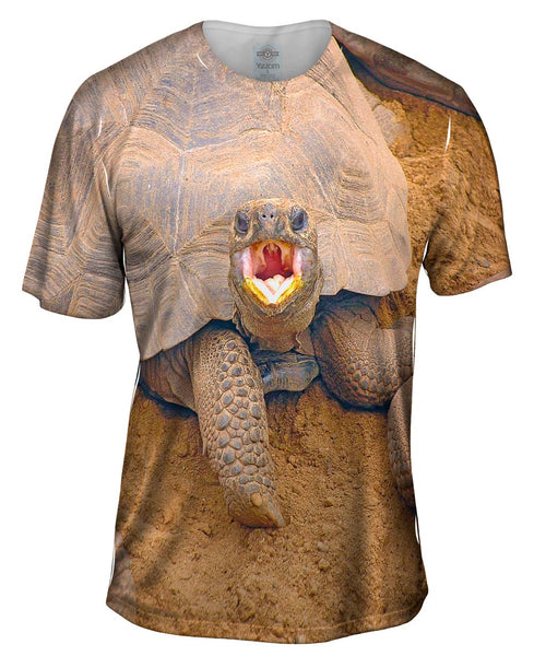 Wrong Side Of The Shell Baby Tortoise Mens T-Shirt