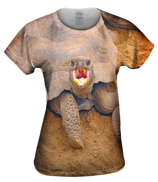 Wrong Side Of The Shell Baby Tortoise Womens Top