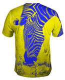 Neon Yellow Zebra