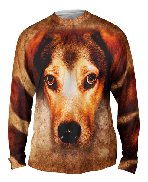 Robin Red Panda Mens Long Sleeve