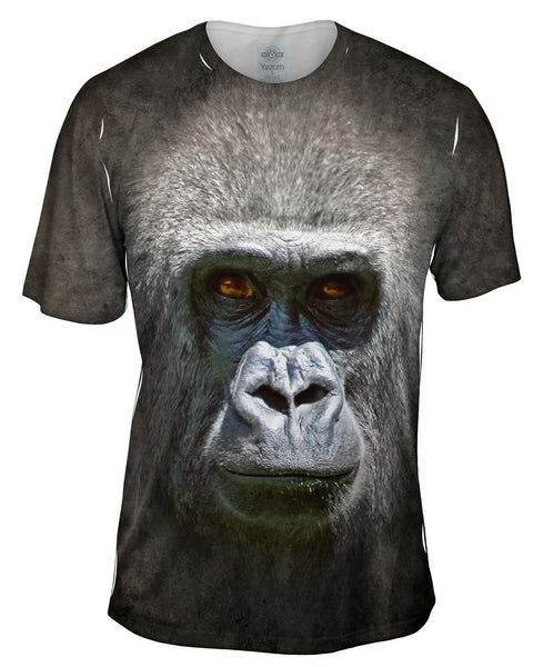 Gorilla Face Mens T-Shirt