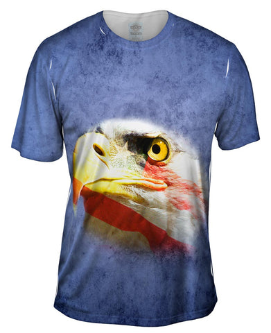 American Flag Eagle Face