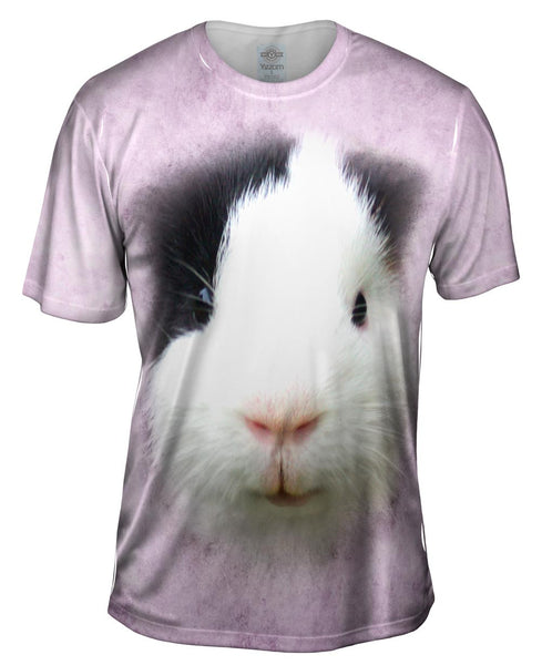 Guinea Pig Face Mens T-Shirt