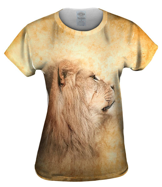 Im Ignoring You Lion Face Womens Top