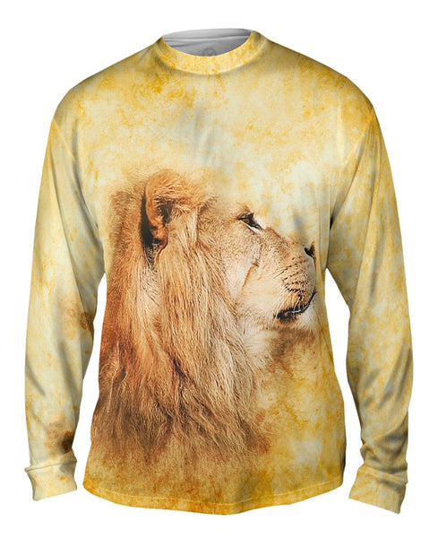 Metal Deer Mens Long Sleeve