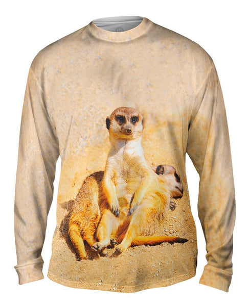 Oran Wolf Mens Long Sleeve