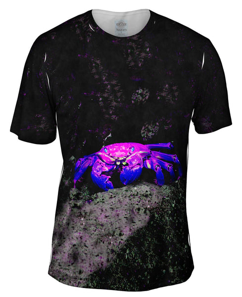 Purple Haze Rock Crab Mens T-Shirt