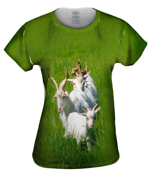 Goat Parade Womens Top