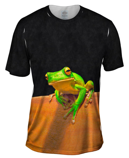 White Lipped Tree Frog Cairns Mens T-Shirt