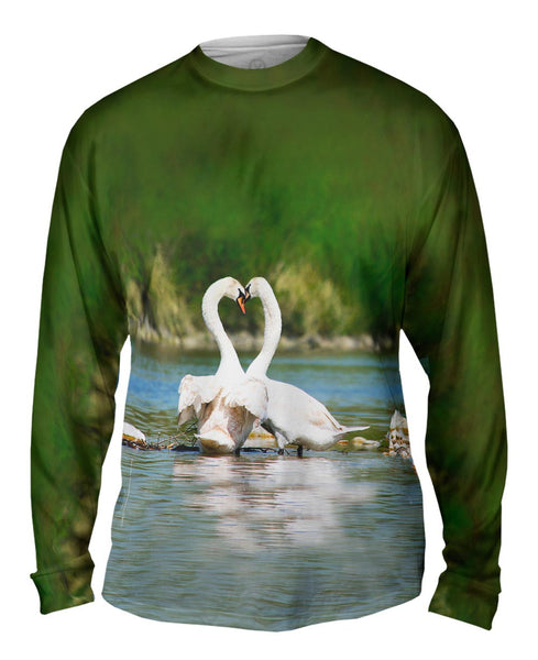 Farm Butterfly Mens Long Sleeve