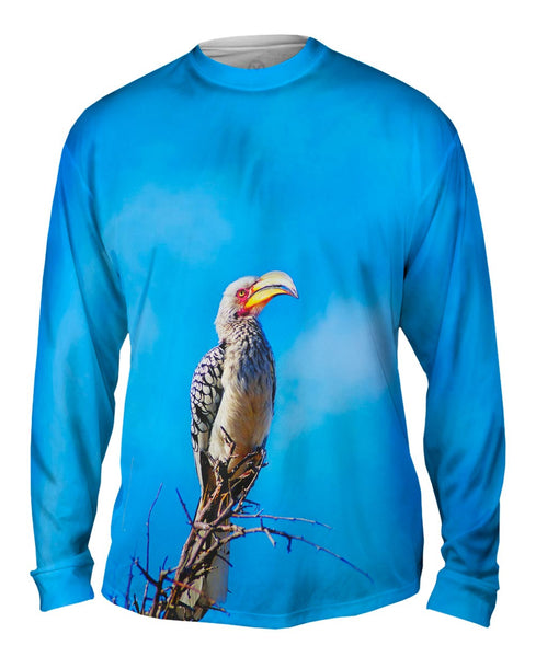 Dragon Butterfly Mens Long Sleeve