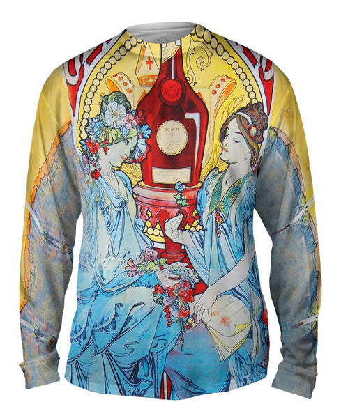 "Alphonse Mucha - ""Bénédictine"" (1898) Mens Long Sleeve"