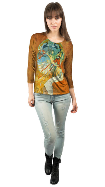Alphonse Mucha-8th Sokol Festival-1912 Womens 3/4 Sleeve