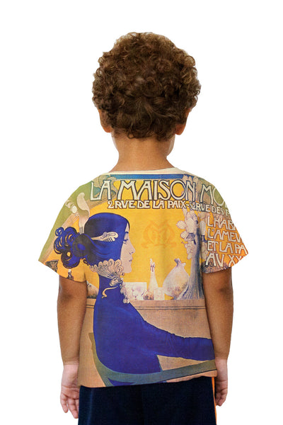 Kids Mysterieux et Beau (Mysterious and Beautiful) Kids T-Shirt