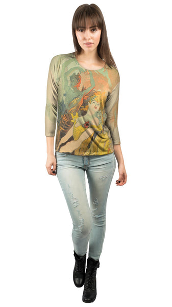 Danseur Colore de Nouveau (Colorful Dancer) Womens 3/4 Sleeve