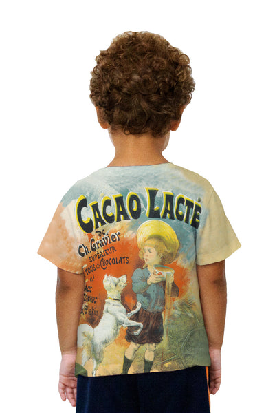 Kids Lucien Lefevre Chocolate Milk Kids T-Shirt