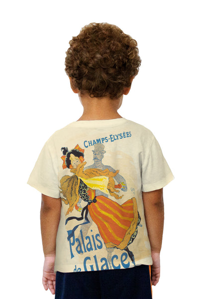 Kids Jules Cheret Ice Palace Kids T-Shirt
