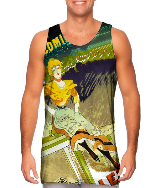 Albert Guillaume Gigolette Mens Tank Top