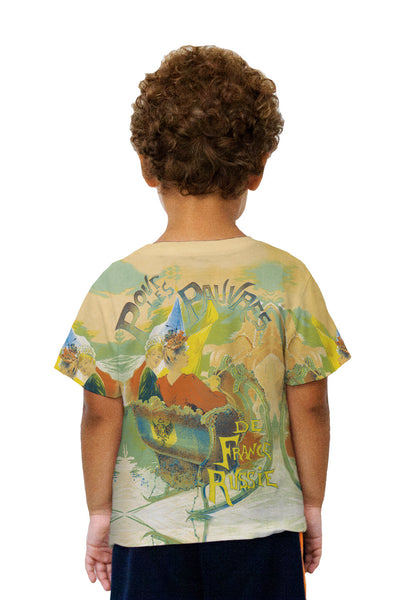 Kids Gaston Noury Povr Les Pauvres Kids T-Shirt