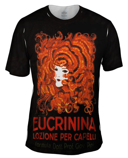"Achille Mauzan 002 - ""Eucrinina, Hair Lotion"" (1921) Mens T-Shirt"
