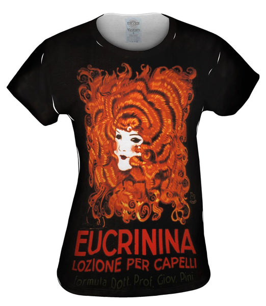 "Achille Mauzan 002 - ""Eucrinina, Hair Lotion"" (1921) Womens Top"