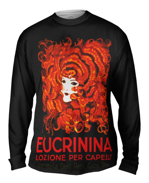 "Achille Mauzan 002 - ""Eucrinina, Hair Lotion"" (1921) Mens Long Sleeve"