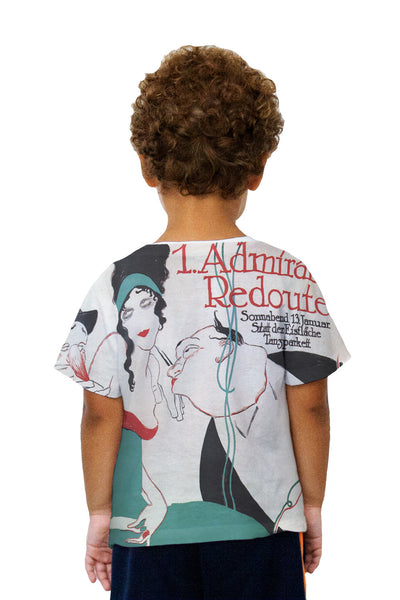 "Kids Ernest Deutsch - ""Admirals Redoute"" (1912) Kids T-Shirt"