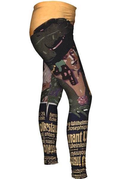 Josef Rudolf Witzel Womens Leggings