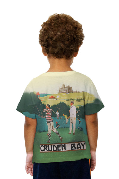 Kids Cruden Bay UK Golf Kids T-Shirt
