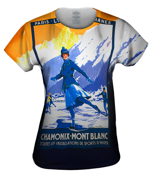 Chamonix Mont Blanck France Womens Top