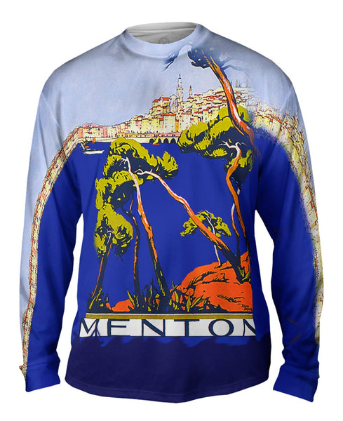 Menton France Mens Long Sleeve