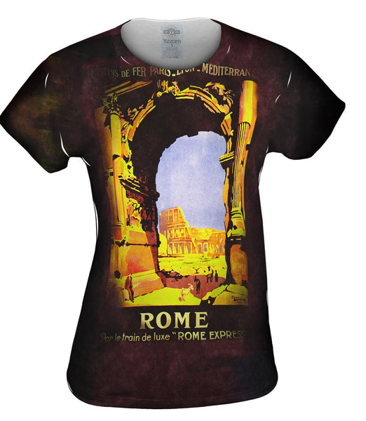 Rome Express Italy 022 Womens Top