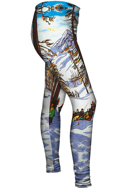 St Moritz Switzerland Womens Leggings