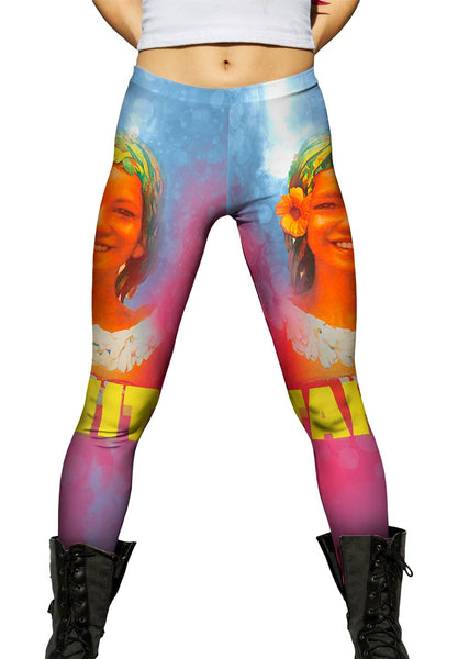 Tahiti Paradise 040 Womens Leggings