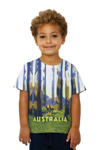 Kids Australia tallest trees 041