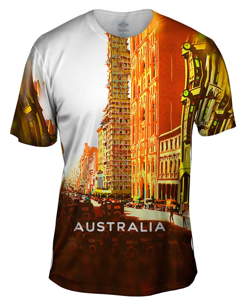 Australia Ninety Years of Progress 042 Mens T-Shirt