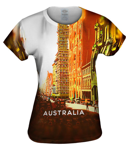 Australia Ninety Years of Progress 042 Womens Top